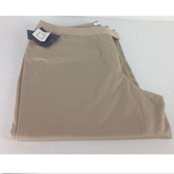 0f81ffacfc5 NWT Plus Size Career Khaki Capri. Boutique. Liz Claiborne